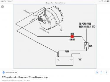 [DIAGRAM_5UK]  Alternator 3 wire hookup - Studebaker Drivers Club Forum | Gm 3 1 Wiring |  | Studebaker Forums - Studebaker Drivers Club